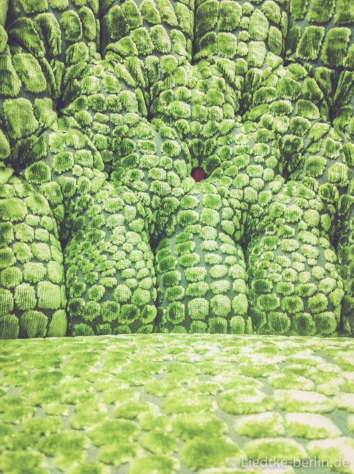 Grüne Nahaufnahme